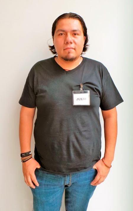 Locutor mexicano Julio C